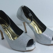 Wanita Gaya High Heels Glossy WG02
