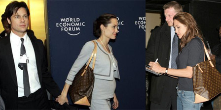 Louis Vuitton Angelina Jolie Kamboja