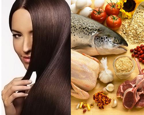 Makanan untuk rambut sehat