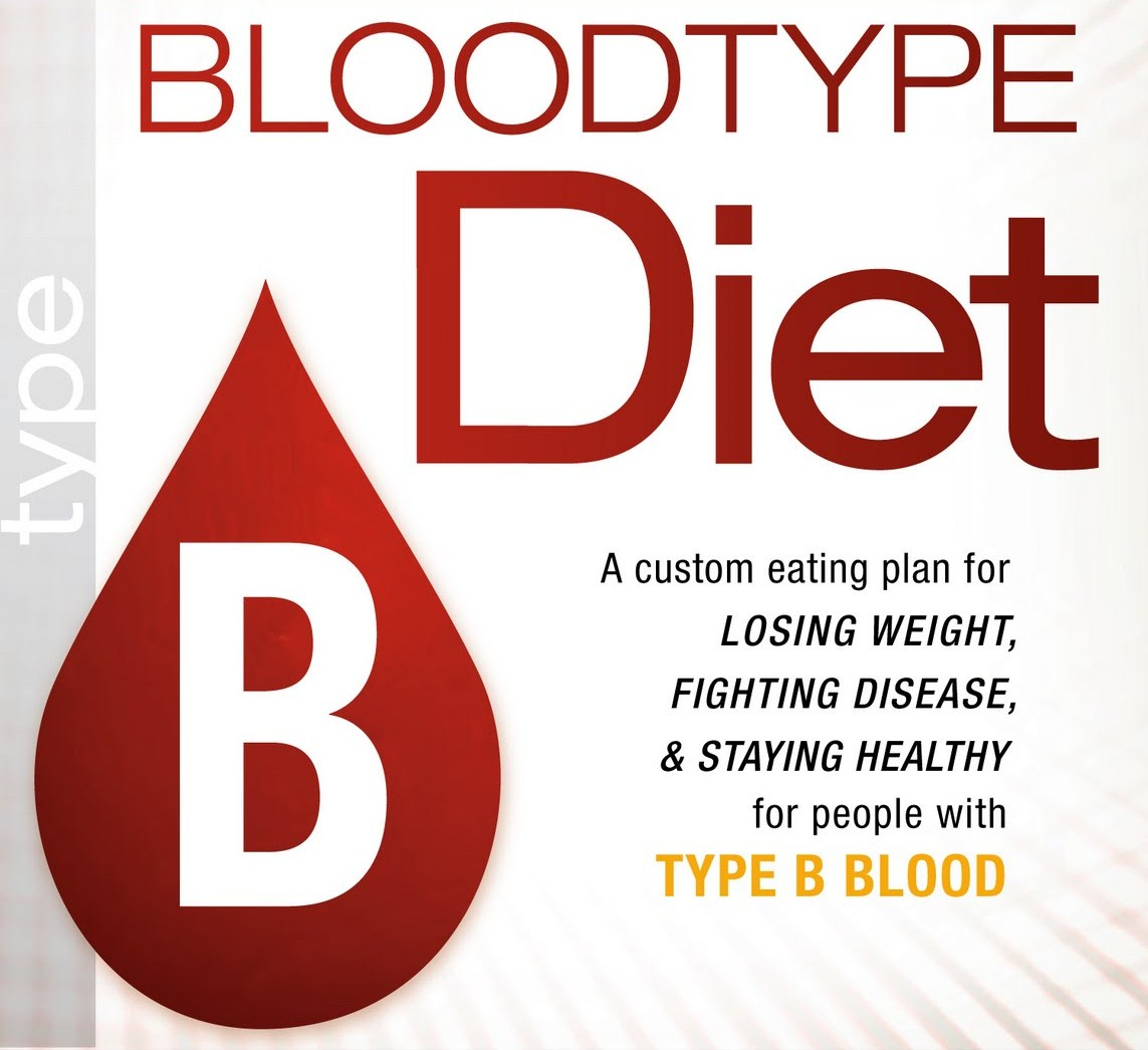 Diet golongan darah B