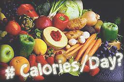 Kalori harian Anda