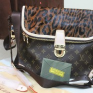 Louis Vuitton Leopard 95510 Monogram Canvas